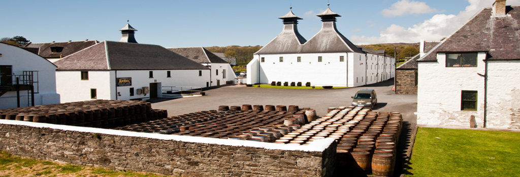 Schottland Whiskey Besichtigung